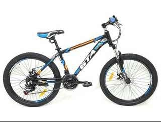 "Bicycle 24"" MTB Alloy GTA S3"