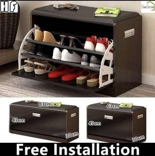 🚚 Shoes rack/Shoe stool/Storage stool/Type B(63 or 83)cm