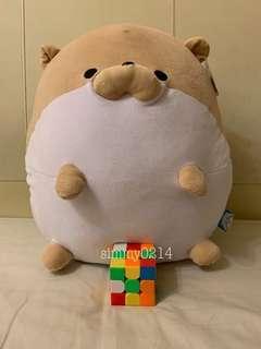 Taito Mochi Zoo Plush Toy round and soft 40cm Toreba Japan Authentic
