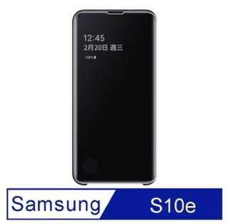 🚚 Samsung 三星s10e三星全透視感應皮套(黑)原廠公司貨