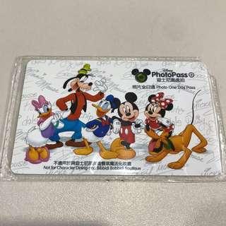 Disney Photopass 迪士尼樂園專用 4月5日到期
