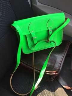 Light Green Horse Leather HandCraft