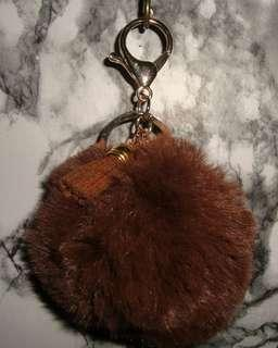FURBALL KEYCHAIN / BAG ACCESSORY