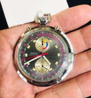 古董美品瑞士計時陀錶 Vintage Pocket Chronograph Watch