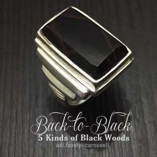 Back-to-Black#2 : 5 Kinds of Black Woods / Kayu with Good Healing Energy