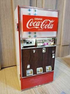 全新 可口可樂 汽水機 音樂錢罌