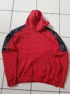 Hoodie AHHA Leather Red ORI 100%
