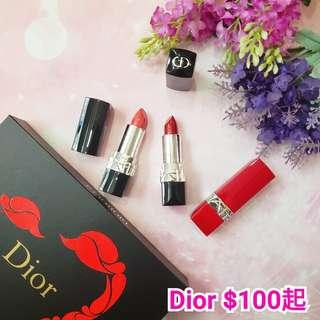 Dior Chanel lancome givenchy tomford 唇膏唇彩唇釉