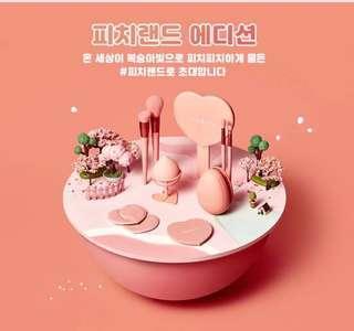 🇰🇷韓國代購🇰🇷 Missha🍑蜜桃化妝用具套裝😍👍🏻