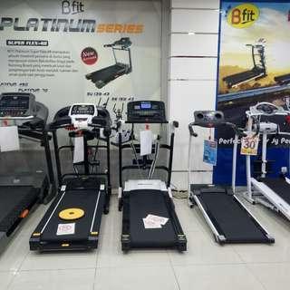 Treadmill Nya Bisa  Cash/Kredit Lg Promo Bunga 0% Tenor 6 Bulan Saja