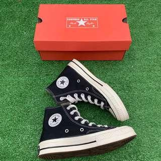 Converse 70s High Black White Size 36 UK 3,5 Second Mulus