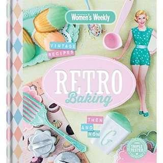 'Women's Weekly - Retro Baking' Book
