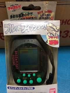 🚚 Vintage Bandai Bass and Float Fishing Handheld Game