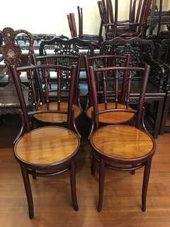 🚚 Vintage Kopitiam Chairs