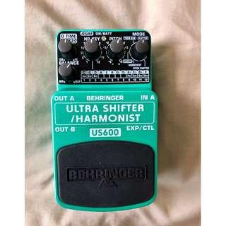 Behringer US-600 Ultra Shifter/Harmonist Guitar Effects Pedal (US600)