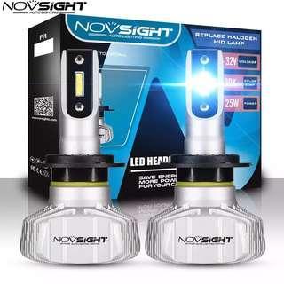 NOVSIGHT H4 LED HEADLIGHT CSP FANLESS