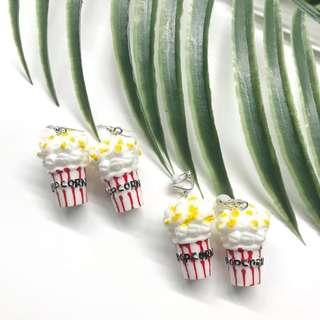 🚚 ❣️ *new* cute popcorn bucket earrings