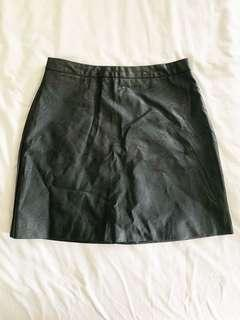 Factorie Leather Skirt