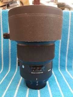 🚚 Sigma 105/1.4 DG Art Nikon