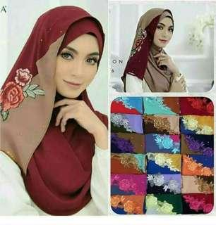 2 tone instant hijab / tudung (view my listing for more)