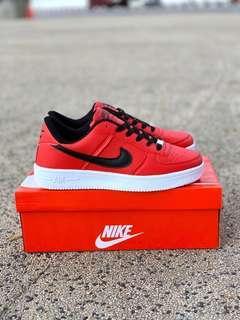Nike Airforce Black Red
