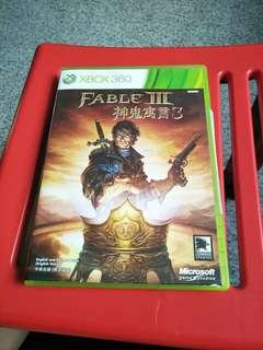 Xbox 360 fable 3