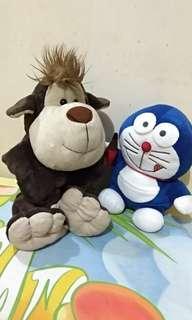 [1 paket / 1 pcs] Boneka Doraemon / Boneka Monyet / Boneka Anak