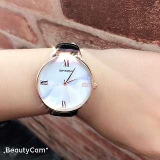 🚚 全新大理石玫瑰金 美錶 女錶 手錶