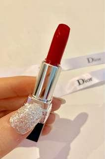DIOR Rouge Lipstick 999 travel size