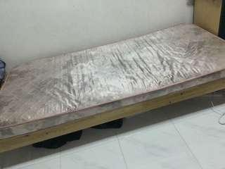 Used single bed including mattress if you want