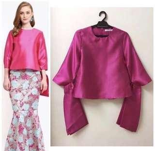 Lubna Tied Knot Sleeve Top