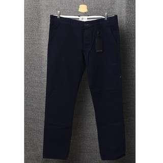 Chino Selected Homme original size 34 navy