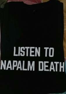 Kaos Listen to Napalm Death