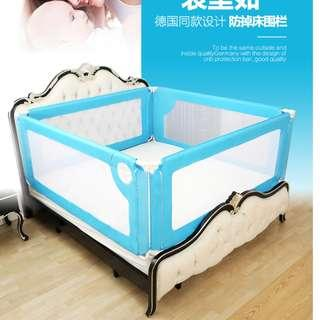 Baby safety bed rail / bed fence / bed guard (防摔床围)~ New ~ fit for queen size bed