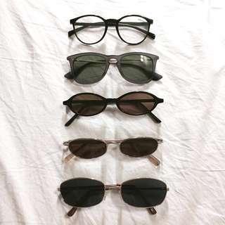 Sunglasses & Eyewear (unisex)