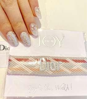 DIOR Wristlet Silver