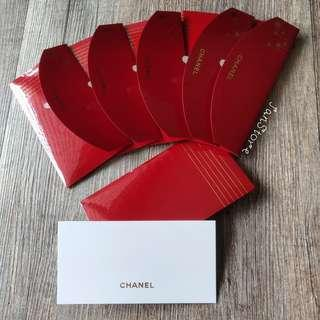 Authentic Chanel Greeting Card with Hard Envolope