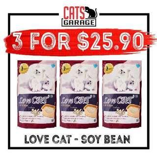 🚚 Love Cat® Tofu Cat Litter - Soy Bean 6L