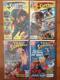 DC Superman comics (bundle sale)