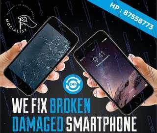 We Fix Your iPhone Today! iPhone repair! Doorstep Service!
