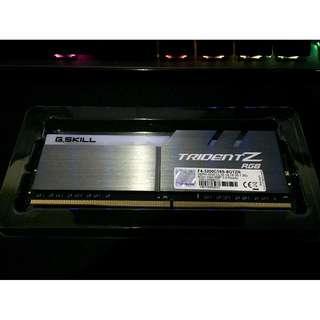 G SKILL Trident Z RGB DDR4 3200
