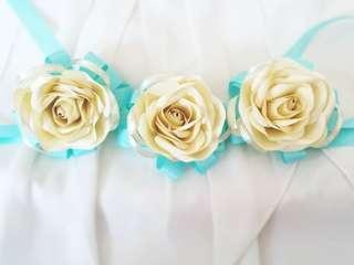 Paper Flower Wrist Corsage