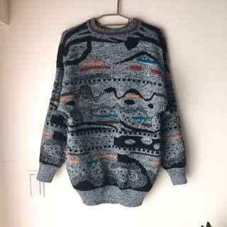 🚚 古著立體毛衣#半價衣服市集