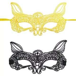 Mask Topeng Wajah Kucing Penutup Mata Aksesoris