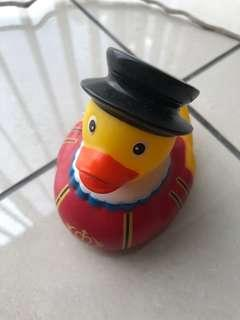 London Theme Rubber Ducky for Baths and Fun