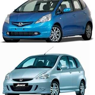2 X Windscreen wipers for 2005 to 2013 Honda jazz Or Honds Fit