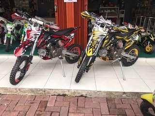 Motor trail type xc pro 110cc 4tak