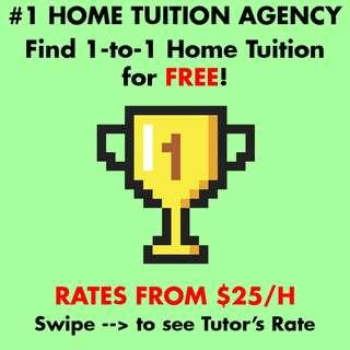 One to One Private Home Tuition for Pri Sec JC K2 P1 P2 P3 P4 P5 P6 H1 H2 English Math Science Chinese Malay Tamil Maths Cheap Affordable