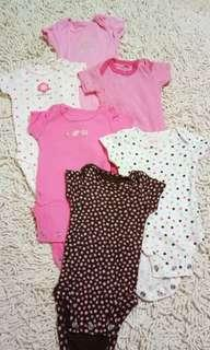 Carter's Love Romper set (6pcs)
