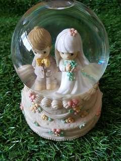 💝 Authentic Wedding Precious Moment muiscal Figurine